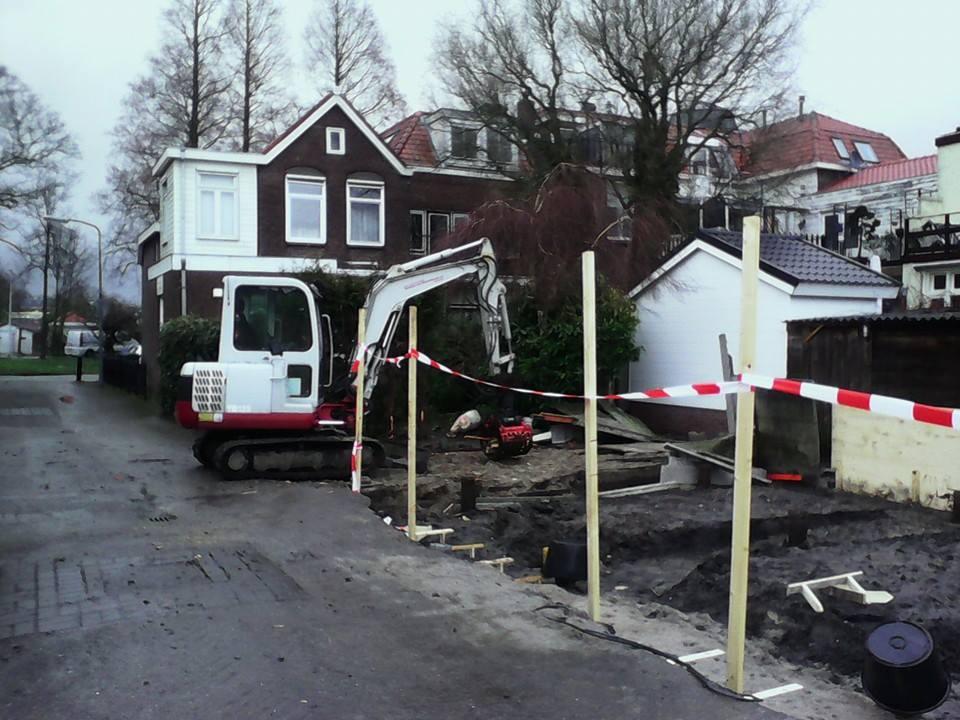 Terrein bouwrijp maken